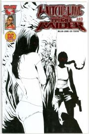 Witchblde Tomb Raider #1 Dynamic Forces Red Foil Eyes Ltd 100 DF COA Top Cow comic book